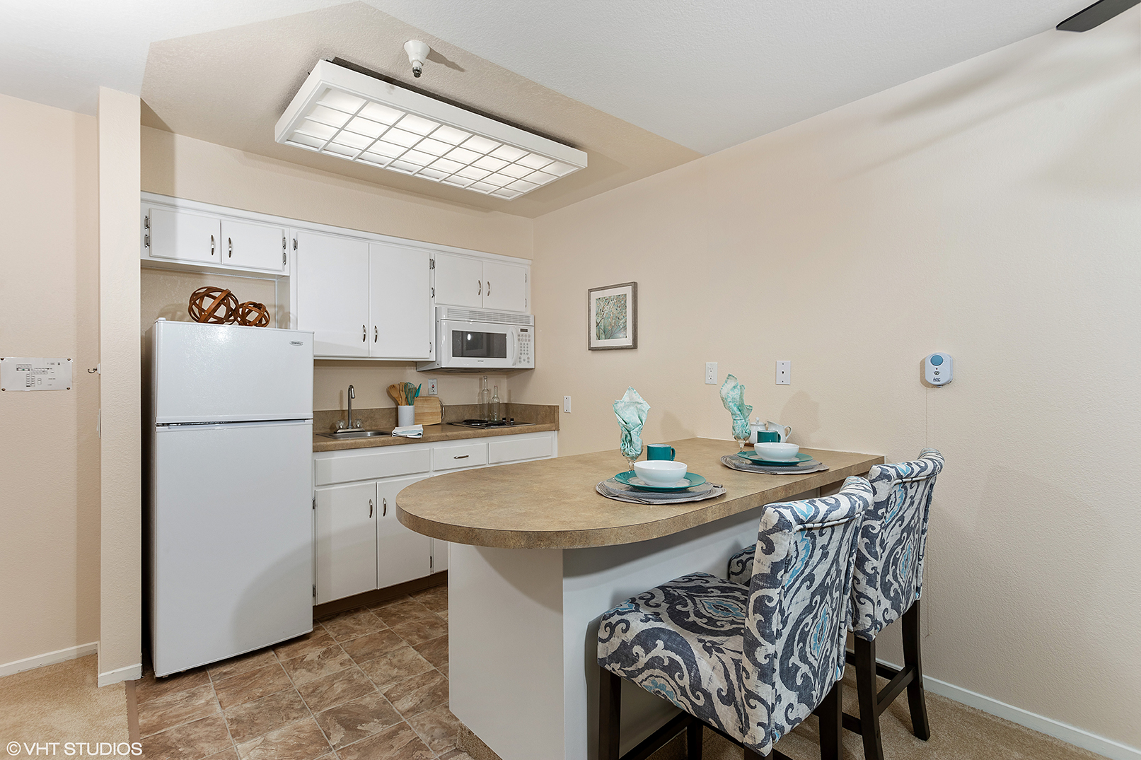 The Windham Senior Resident Kitchenette